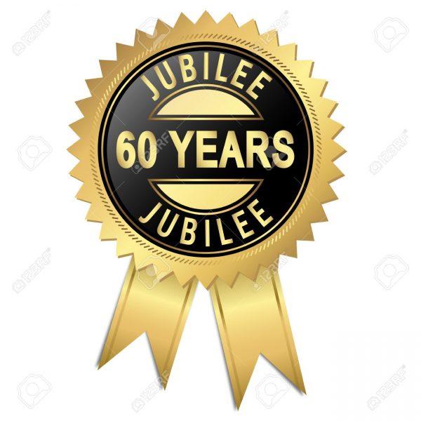 60 jaar jubileum